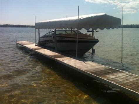 Boat Lift Canopy New York Mills by Hewitt Boat Lift Boats For Sale