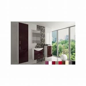 Salle De Bain Complete : salle de bain compl te ocean laqu e avec vasque pas cher ~ Dailycaller-alerts.com Idées de Décoration