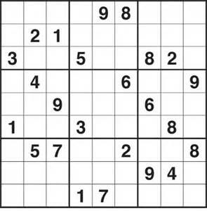 Easy Printable Sudoku Puzzles
