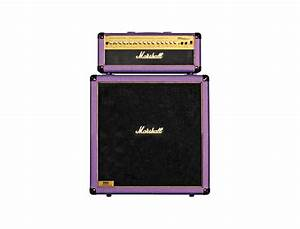 Marshall Mg100hdfx  Mg412a Slant Purple Half Stack Reviews  U0026 Prices