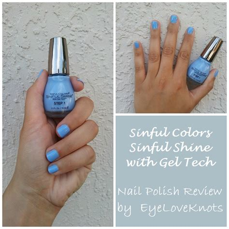 sinful colors gel tech sinful colors sinful shine with gel tech nail review
