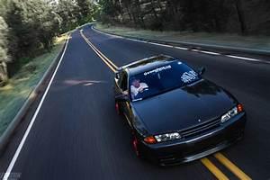 Modified Nissan GTR R32 Skyline black - ModifiedX