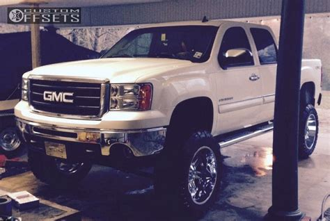 gmc sierra  moto metal mo rough country lifted