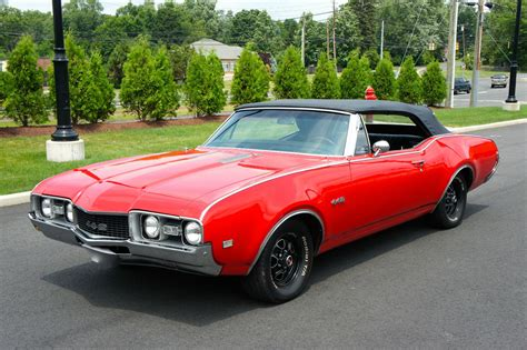1968 OLDSMOBILE 442 CONVERTIBLE - Muscle Car