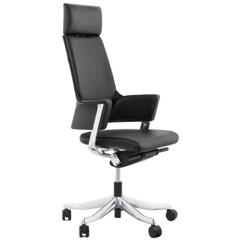 fauteuille bureau fauteuil de bureau design ergonomique cuba en cuir noir