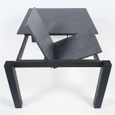 table de cuisine extensible table de cuisine carrée extensible en stratifié vario