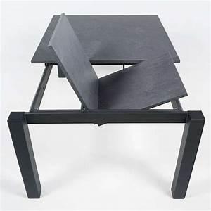 Table Carre Extensible : table de cuisine carr e extensible en stratifi vario 4 ~ Teatrodelosmanantiales.com Idées de Décoration