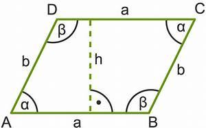 Viereck Winkel Berechnen : fl cheninhalt und umfang von parallelogrammen berechnen ~ Themetempest.com Abrechnung