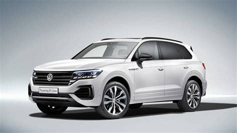 2019 Volkswagen Touareg Debuts In Beijing, And Won't Be
