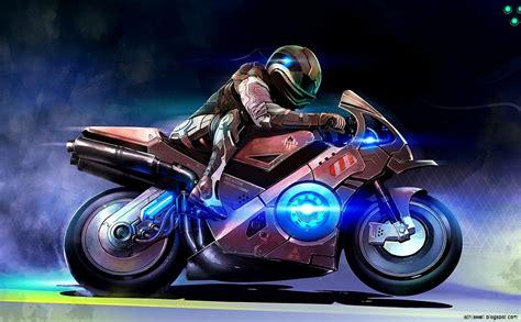Cool Motorcycle Art Background Hd Amp Widescreen Desktop