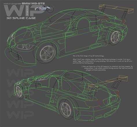 Bmw M3 Gt2 Wip 01 By Dangeruss On Deviantart