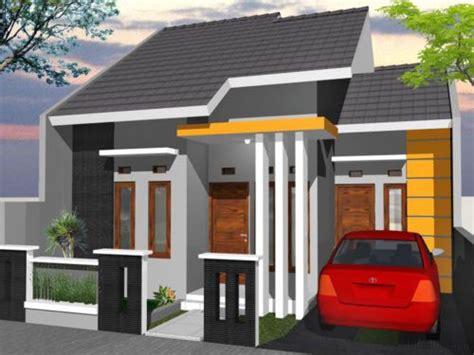 warna cat depan rumah  bagus rumah minimalis desain