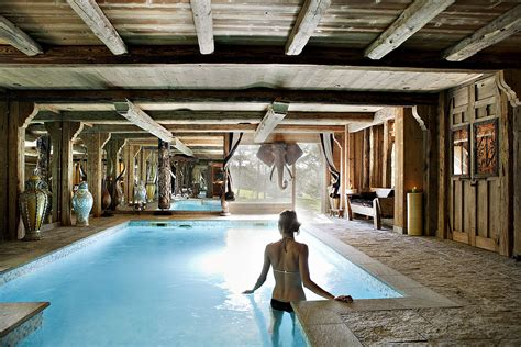 chambre chalet de luxe swimming pool design modern design by moderndesign org