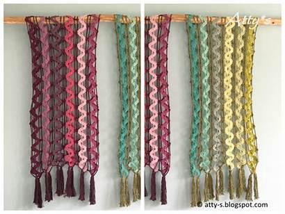 Crochet Pattern Waterfall Scarf Shareapattern