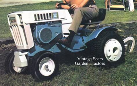 vintage sears garden tractors 1972 sears suburban ss12 mytractorforum the