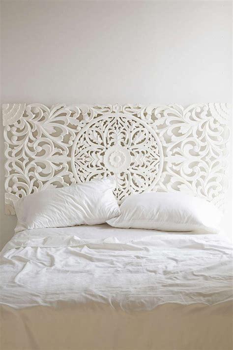 white wooden headboard cabeceros de cama de madera tallada india ex 243 tica1000
