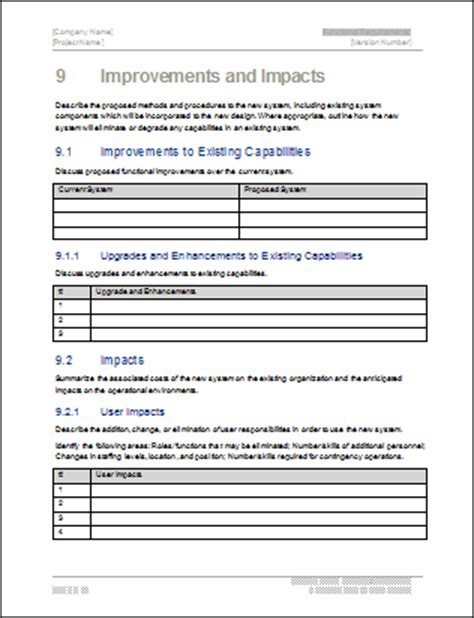 reporting requirements template 7 reporting requirements template invoice exle