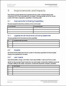 functional requirements specification ms word excel With functional design document template