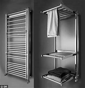 Petit Seche Serviette Electrique : petit radiateur seche serviette electrique 3 17 ~ Premium-room.com Idées de Décoration
