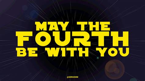 May The Fourth Be With You Star Wars GIF by SiriusXM ...