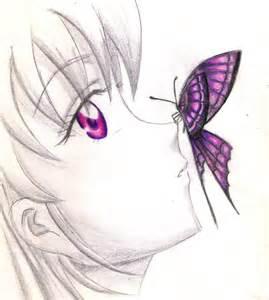 Dibujos a Lapiz De Mariposas