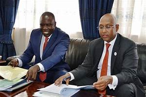 CS Bett officially takes up office at Kilimo House : The ...