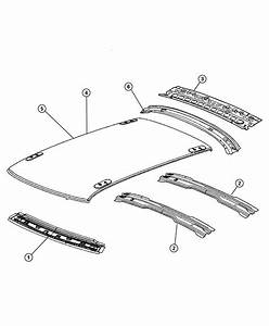 Chrysler 300 Panel  Roof  Without Sunroof Opening  Rack  Power  Gwa