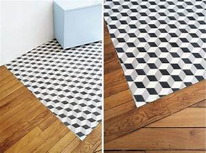 carreaux de ciment et carrelages black square With parquet carreau de ciment
