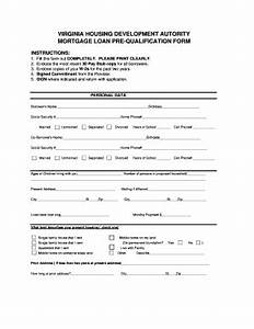 prequalification mortgage paper fill online printable With online prequalification letter