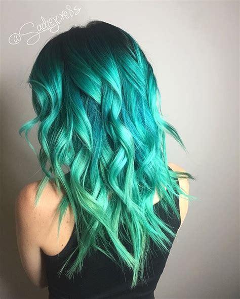 aqua hair color best 25 aqua hair ideas on teal hair