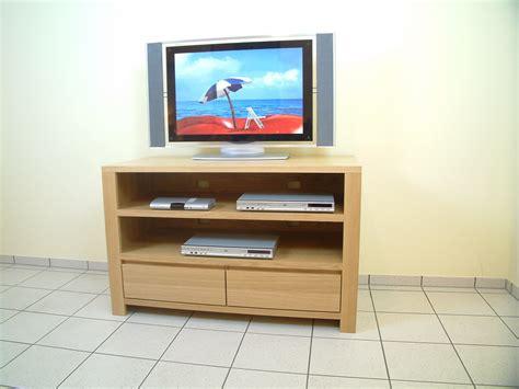 Schermbeck Tv-anrichte, Lowboard In Eiche Massiv, Breite 120 Cm, Mit 2 Offenen Fächern Für
