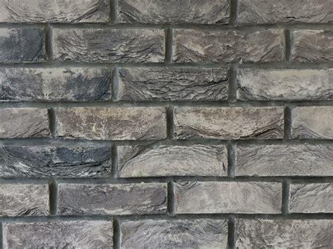slate grey  hand  brick slips brick wall tiles