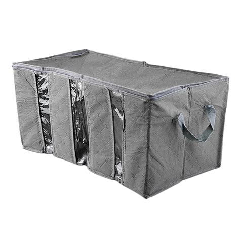 65l bamboo charcoal clothes blanket folding storage