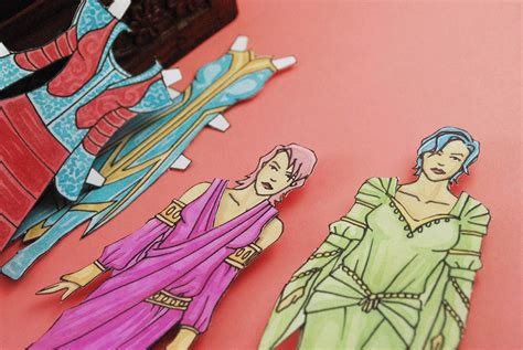 paper doll  clothes  steps