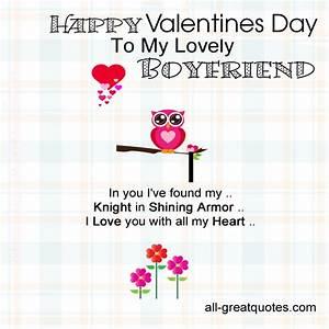 Happy Valentines Quotes Boyfriend. QuotesGram