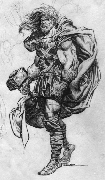262 best LineArt: Asgardians images on Pinterest   Ox
