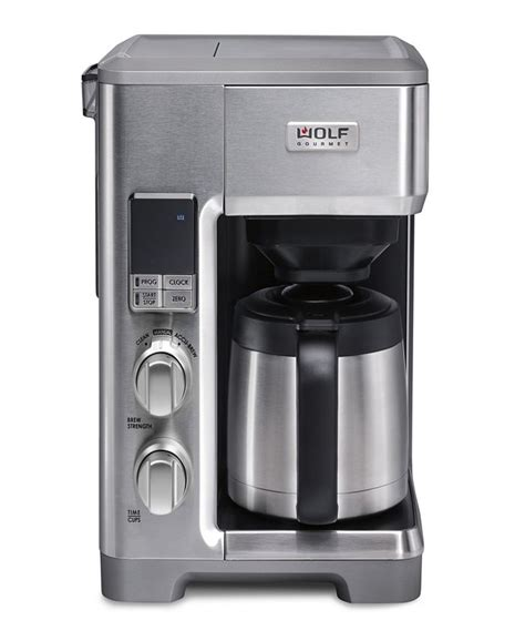 Looking for a new drip coffee maker to enjoy your morning cup? Wolf Gourmet Automatic Drip Coffee Maker & Reviews - Coffee Makers - Kitchen - Macy's
