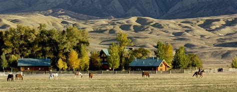 dining room wyoming dude ranches guest ranch vacation at the