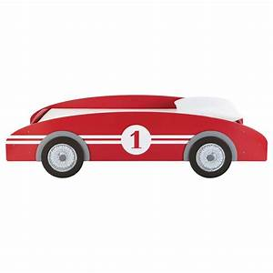 Lit Voiture 90x190 : lit voiture enfant 90x190 rouge circuit maisons du monde ~ Teatrodelosmanantiales.com Idées de Décoration
