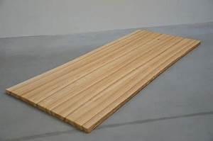 Massivholzplatte Mit Baumkante : tischfabrik24 massivholz tischplatte kernesche 4 cm ~ Michelbontemps.com Haus und Dekorationen
