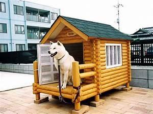 Rogupethouse rakuten global market log dog kennel dog for Cool dog kennels