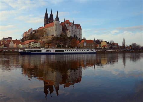 Sachsen ist ein freistaat in deutschland mit der hauptstadt dresden. Die Albrechtsburg in Meißen ..., Foto & Bild | deutschland ...