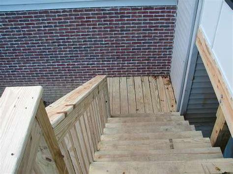 comment construire un escalier ext 233 rieur