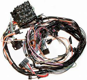 1976 Corvette Wiring Harness  Main Dash  Manual