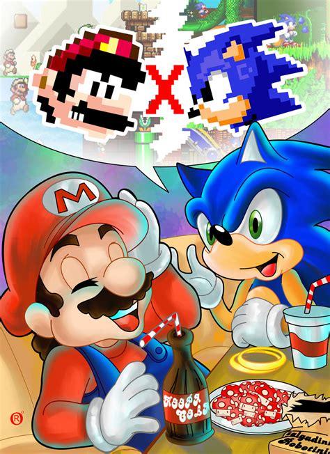 Mario And Sonic By Shonemitsu On Deviantart