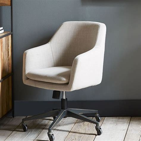 upholstered office chair on casters 11 for your home