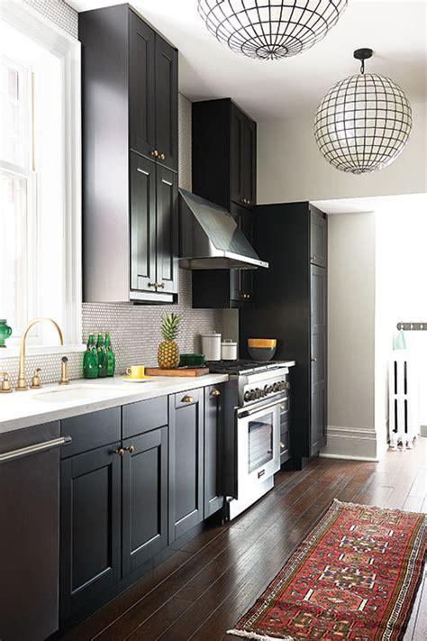 toute cuisine déco on ose une cuisine toute en noir châtelaine