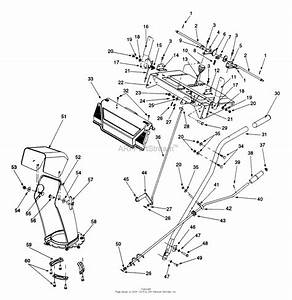 Mtd 31ae640f352  1999  Parts Diagram For Handle Assembly