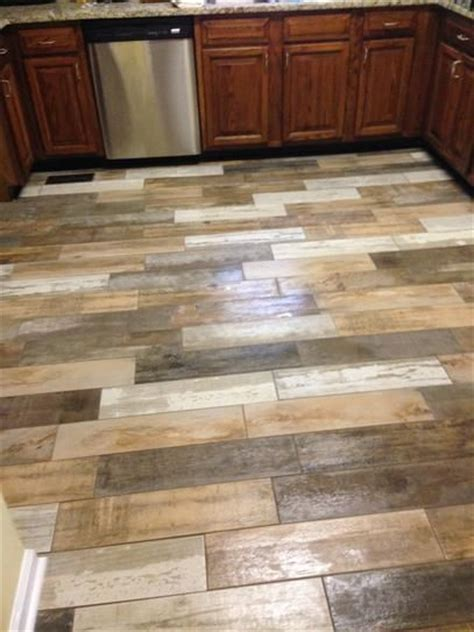 home depot reclaimed wood look tile the world s catalog of ideas
