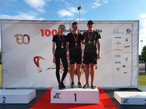 Jēkabpiliešiem lieliski rezultāti Latvijas čempionātā vieglatlētikā